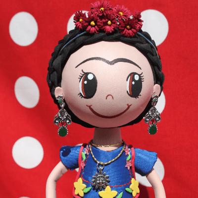 Frida kahlo fofucha jalape os tu gitana for Cuartos decorados de frida kahlo