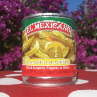 JALAPEÑOS EN RAJAS EL MEXICANO 215G
