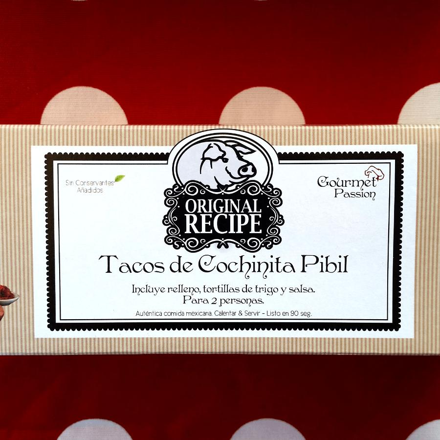 Kit cochinita pibil