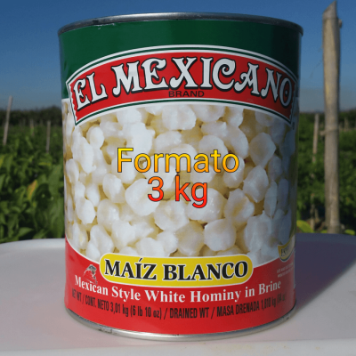 MAIZ POZOLERO EL MEXICANO 3 KG