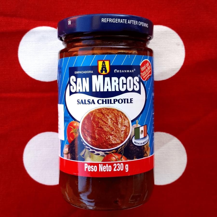 SALSA CHIPOTLE SAN MARCOS 230G - PRODUCTOS MEXICANOS